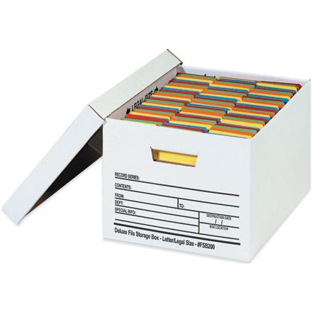 Auto-Lock File Storage Boxes