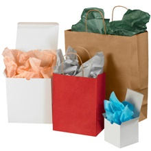 Colored Tissue Paper Sheets
