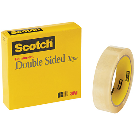 Scotch<span class='rtm'>®</span> 665 Double Sided Tape (Permanent)